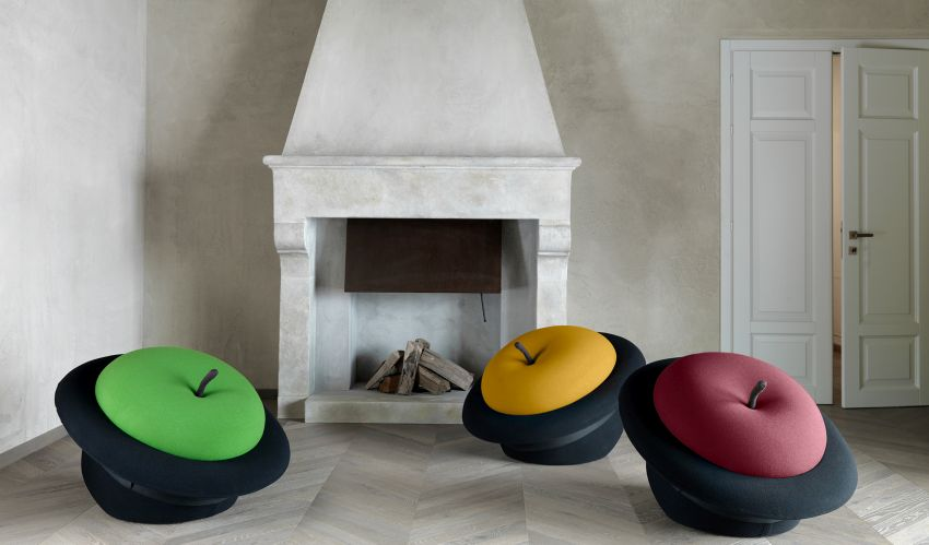 Gufram Re-Issues New Edition of Sebastiàn Matta's Iconic MAgriTTa Armchair