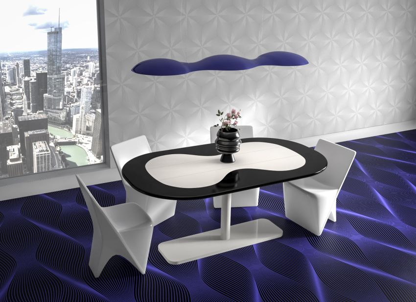 Karim Rashid Unveils New KIUSO Folding Table
