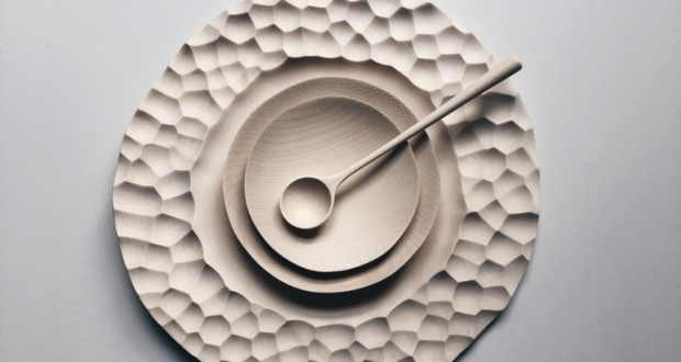 Luke Hope Creates Bespoke Wooden Tableware and Kitchen Utensils