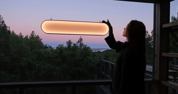 Marjan van Aubel Creates Sunne Solar-Powered Ambient Lamp for Indoors