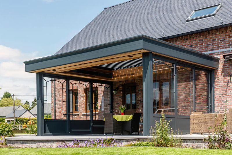 Renson Launches Smartphone-Controlled Louvered Patio Roof
