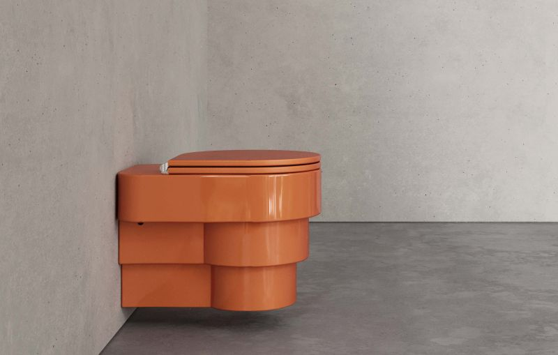 Trone Paris Re-Imagines Toilets with new Colorful Design