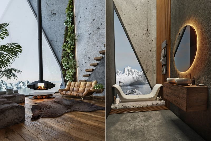 Viktoria Nyerges Designs Amazing, High-Altitude Cliff House
