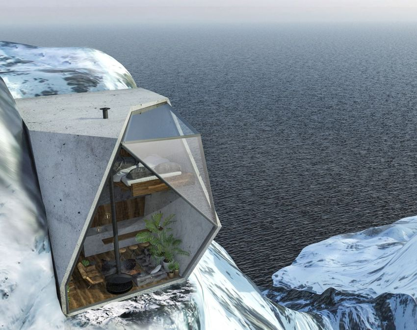 Viktoria Nyerges Designs Amazing, High-Altitude Cliff House