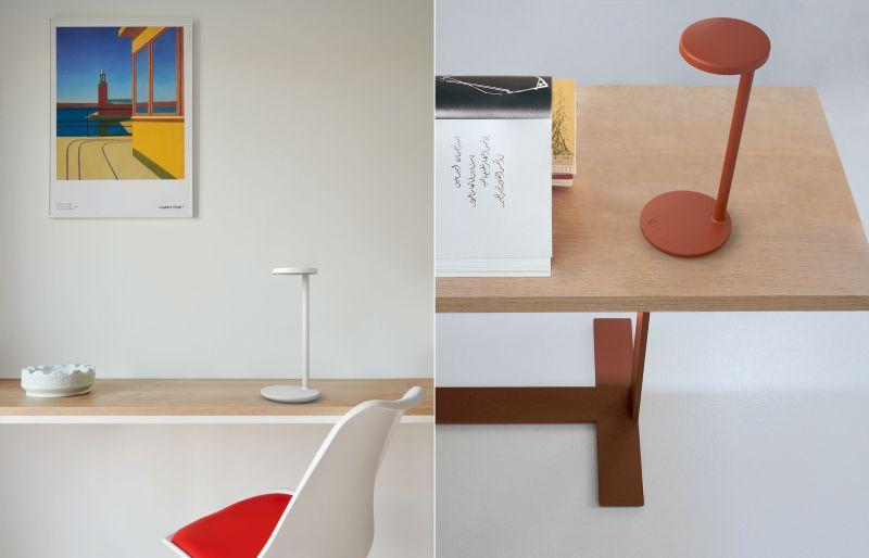 Vincent Van Duysen Designs Oblique Table Lamp for FLOS