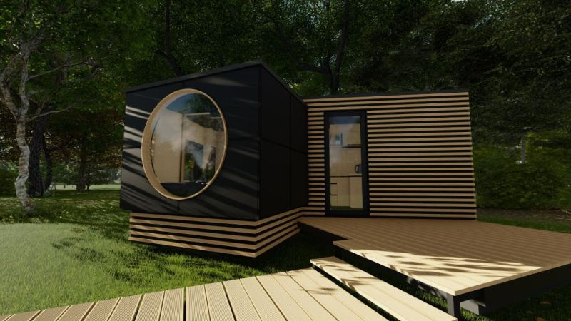 XO Prefab Tiny House by Eestihouse can be Installed in Just Two Hours