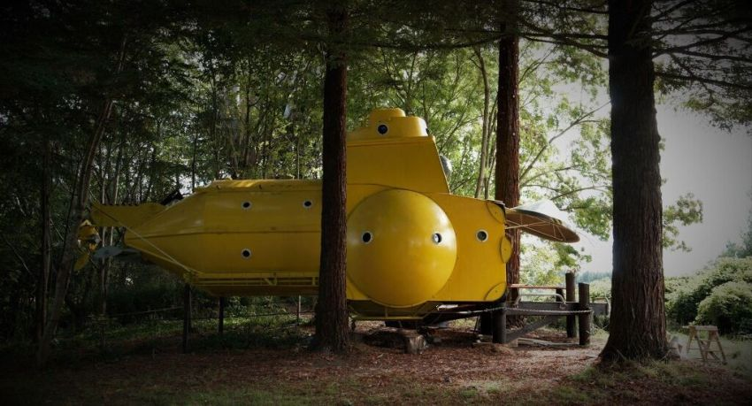 You can Book This Submarine-Themed Tiny House in New Zealand on Airbnb