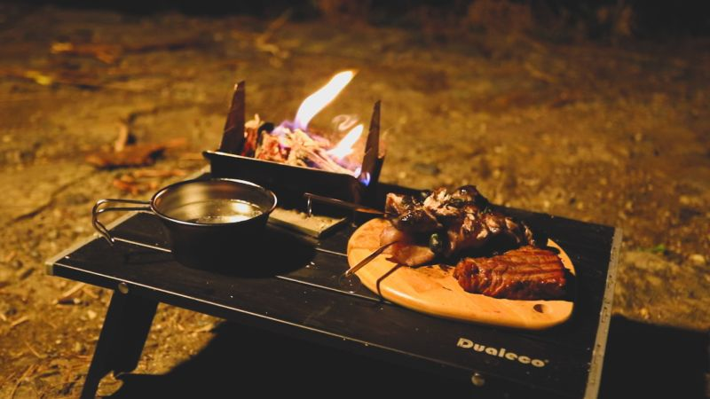 Japanese Startup Comes up with Portable Fire Pit that Fits in Pocket