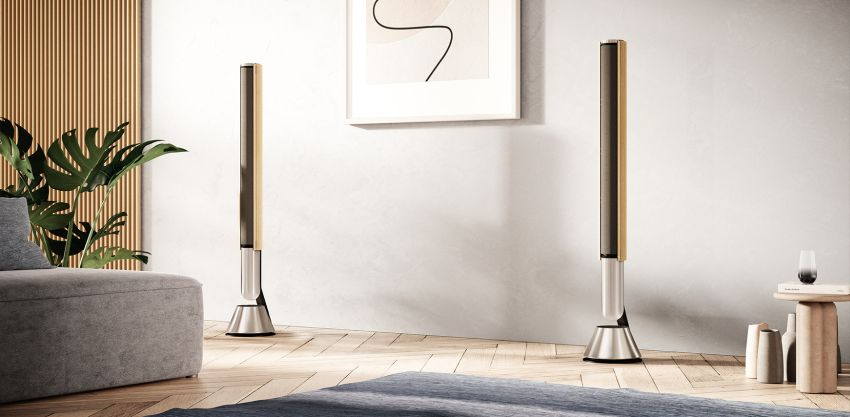 Bang & Olufsen has over again expanded its ever-evolving range of decorative speakers with Beolab 28 - a pair of slim wireless stereo loudspeakers that easily blend into any space and offers adaptive studio-grade sound.