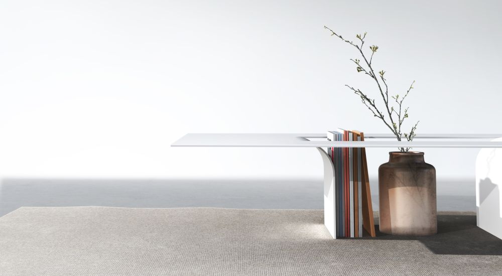 CUT Coffee Table by Johannes Budde