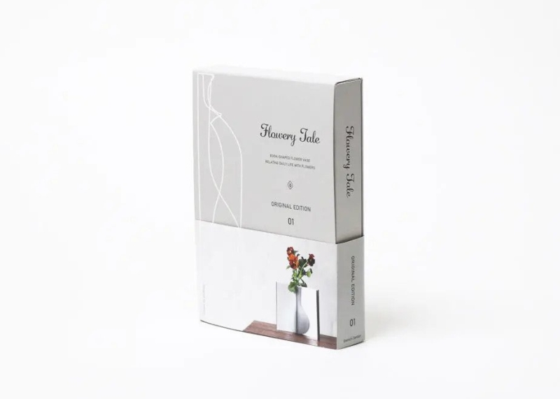 Meet Mecli's Flowery Tale: Book From Outside, Flower Vase From Inside