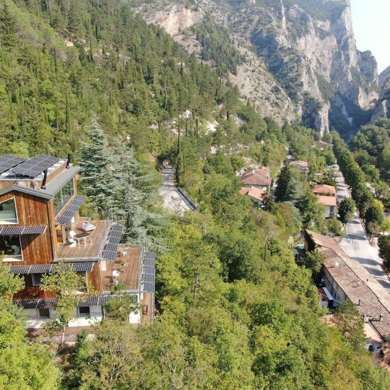 Former Forest Service Station Transformed into Luxury Ecolodge in Italy