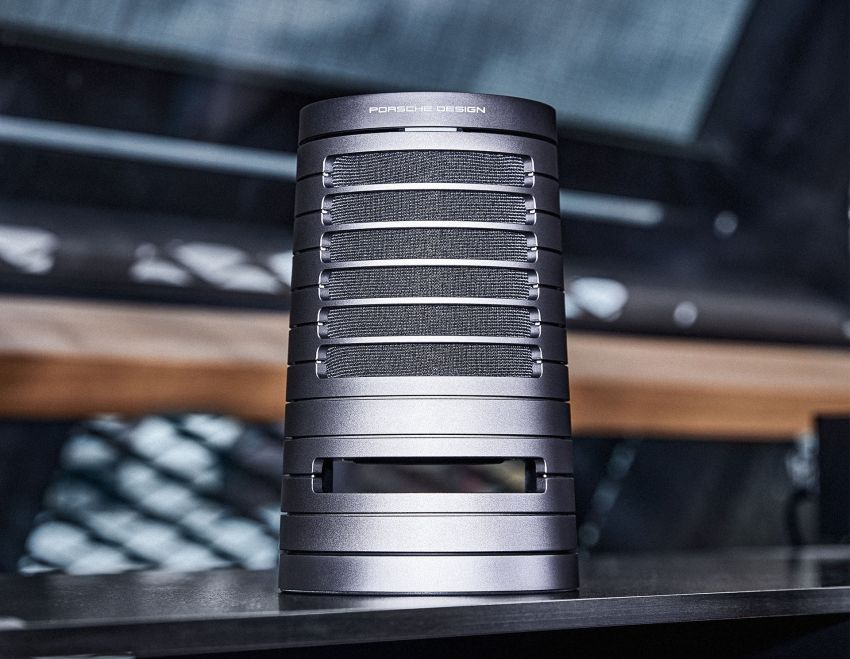 Porsche Design Launches New PDS50 Wireless Speaker