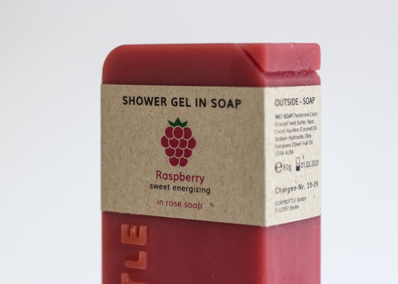 SOAPBOTTLE, a Packaging That Can be Used as a Soap
