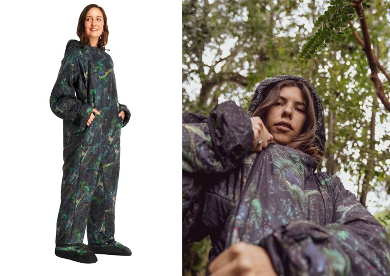 Selk'bag Launches Rainforest Wearable Sleeping Bag