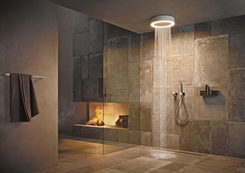 KEUCO's Shower Light Offers Perfect Combination of Light and Water