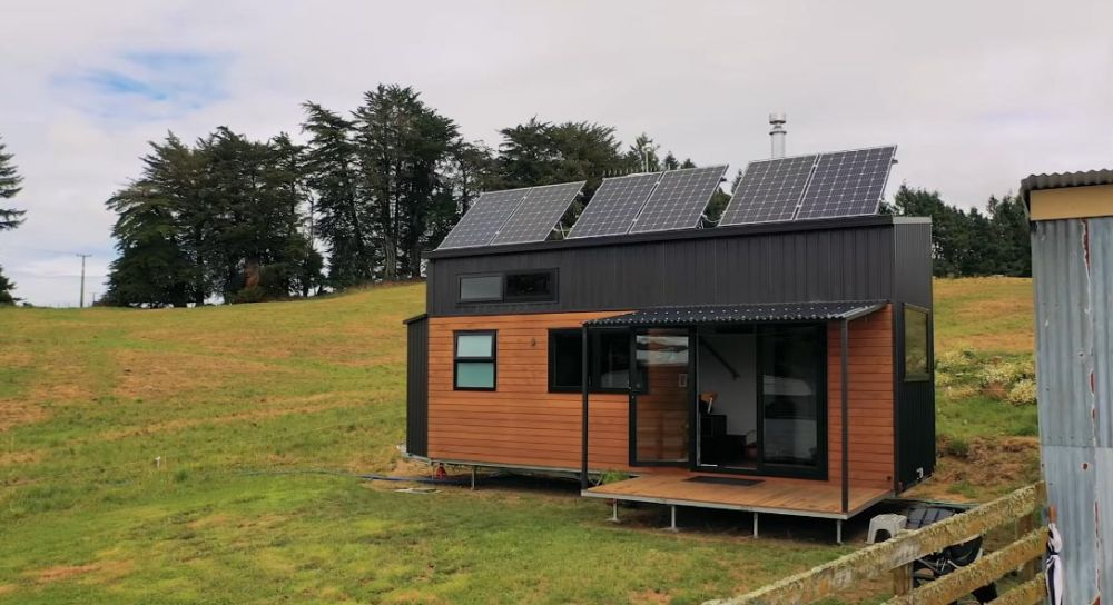 This Off-the-Grid Tiny Home Features Brilliant Design Elements