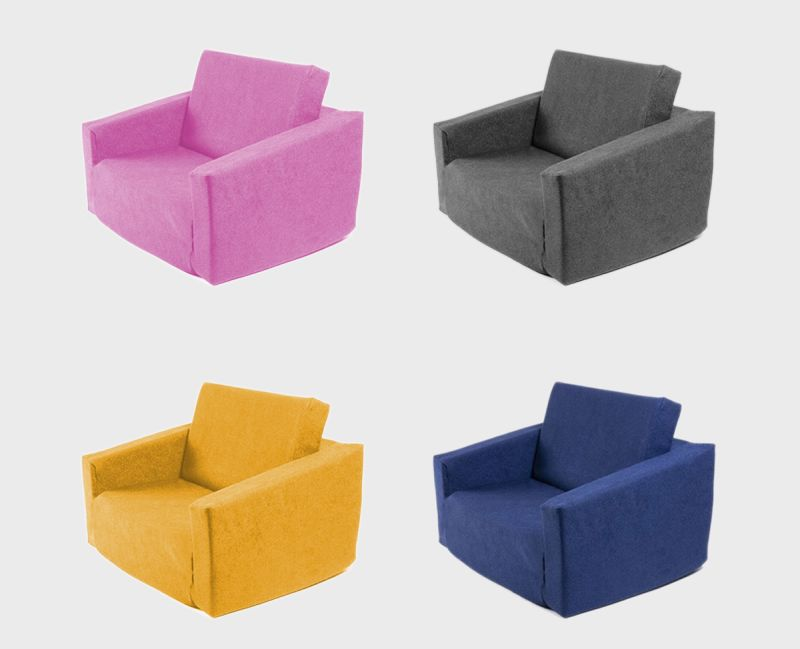 UPPAREL Launches World's First Circular Flip-Out Children's Sofa