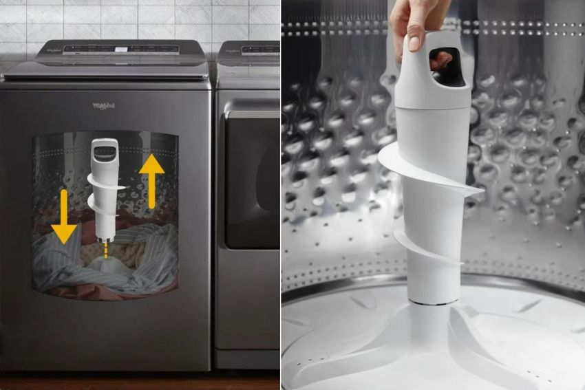 Whirlpool Launches Top Load Washer with Removable Agitator