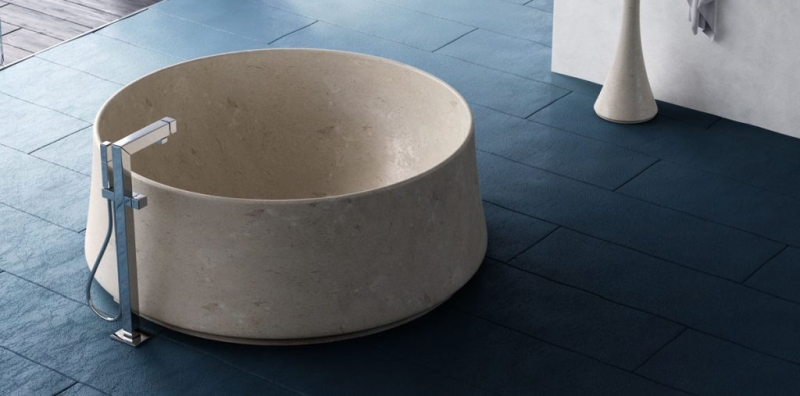 Dedalo Stone Offers Customized Luxurious Marble Bathtubs