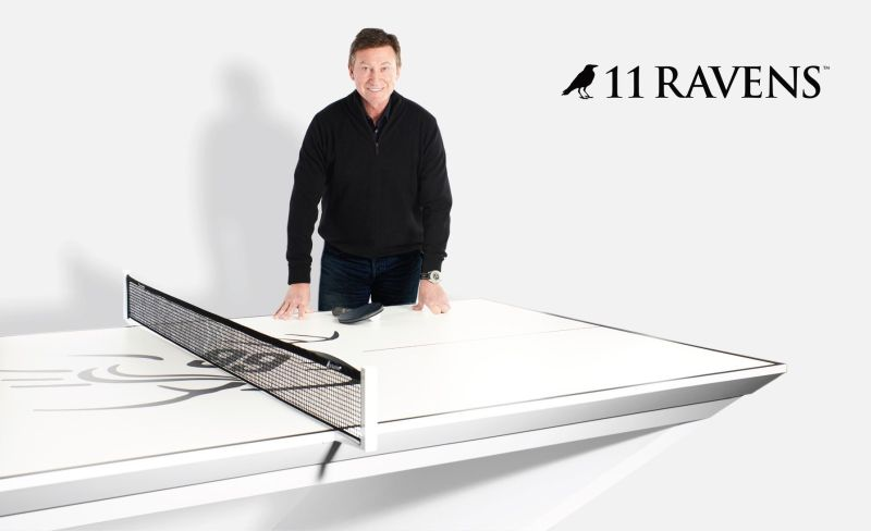 11 Ravens Releases Wayne Gretzky Stealth Ping Pong Table