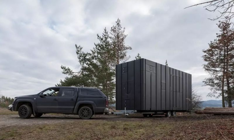 Aranka Mobile House by Hide and Seek can be Installed Amidst Nature