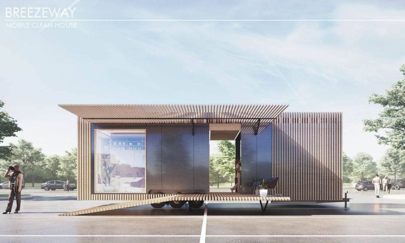 Breezeway Mobile House by Trevor Boyle, AIA is Built for Pandemic Environments