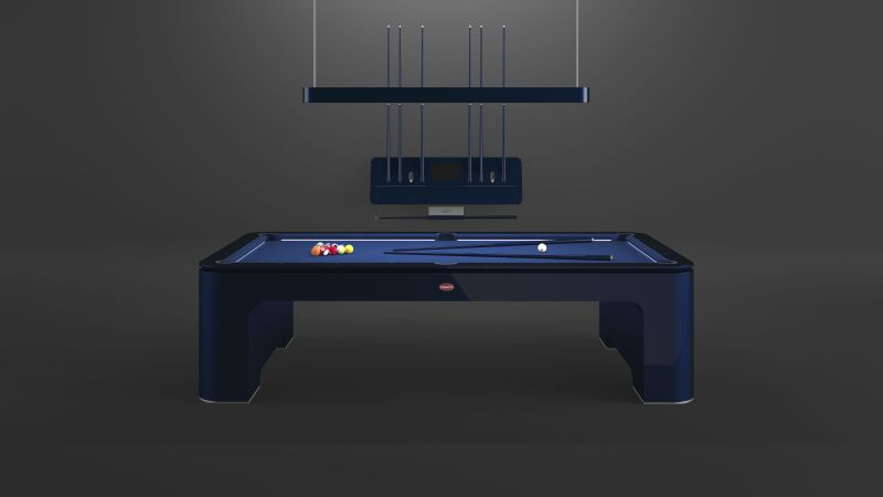 Bugatti Lifestyle Collection Expanded with Pool Table Adorned in Carbon Fiber