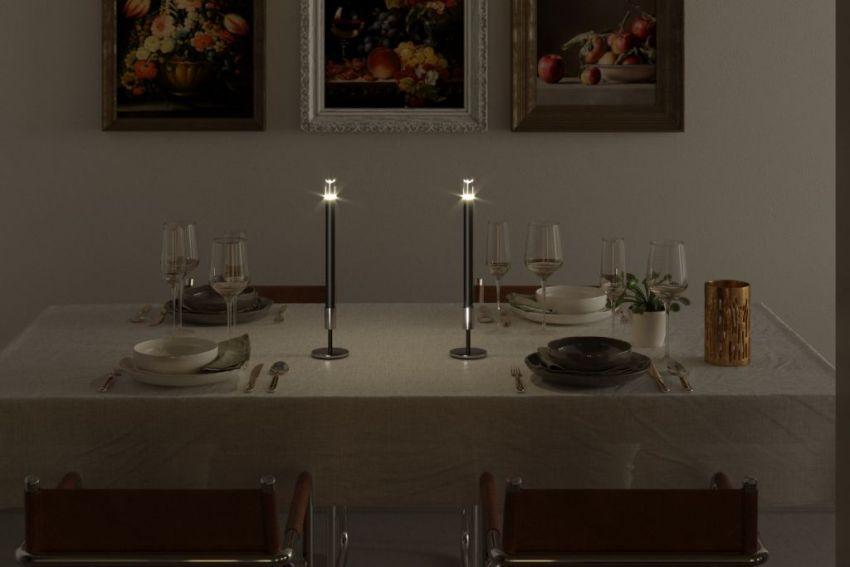 Chiaro di Luna's Candela 2.0 Replaces Traditional Candles