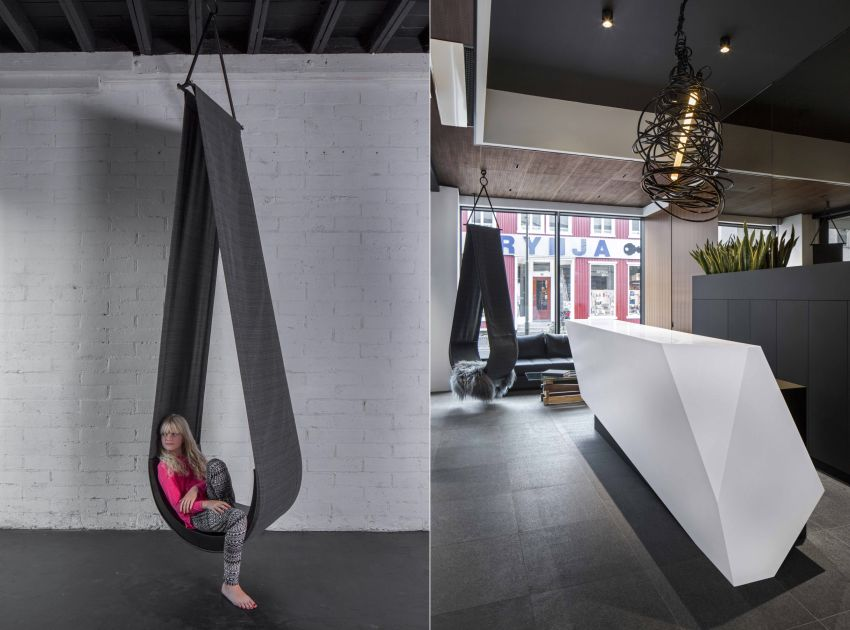 DROPi Hanging Chair by Minarc Captures Beauty of a Drop of Water
