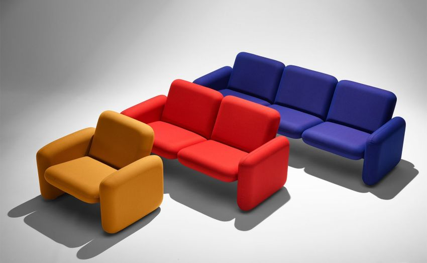 Herman Miller Reissues Ray Wilkes' Chiclet Sofa in New Colors and Fabrics