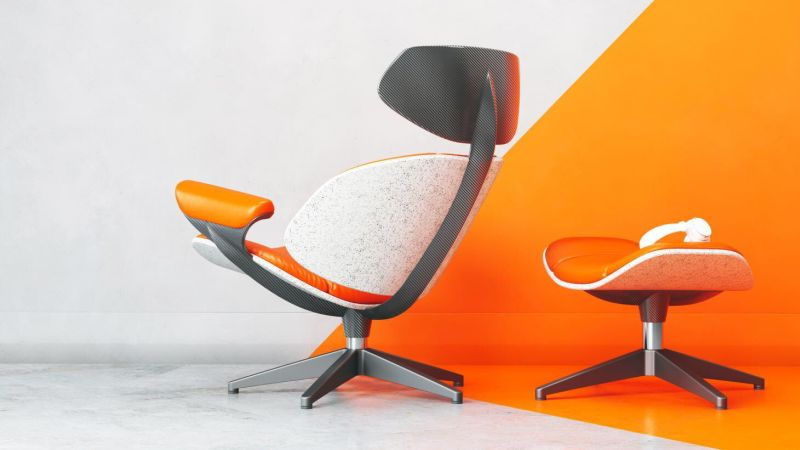 Ian Callum Re-Imagines Eames Lounge Chair in New Materials