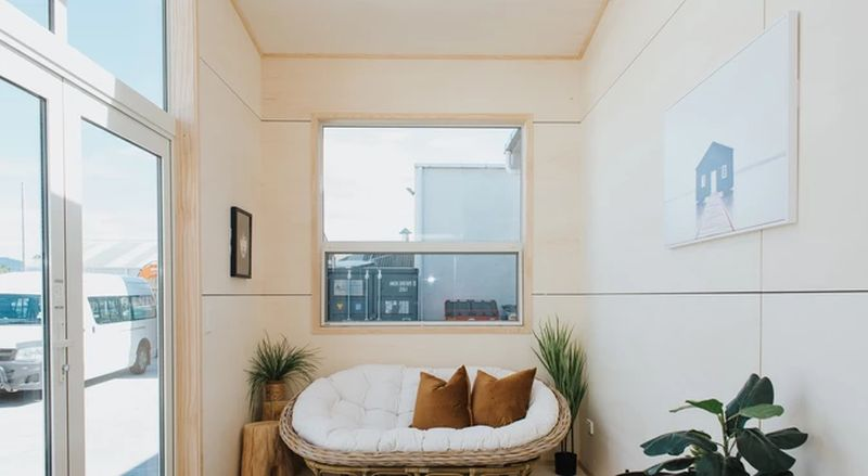 The Kapiti Tiny House is Perfect for Two Persons