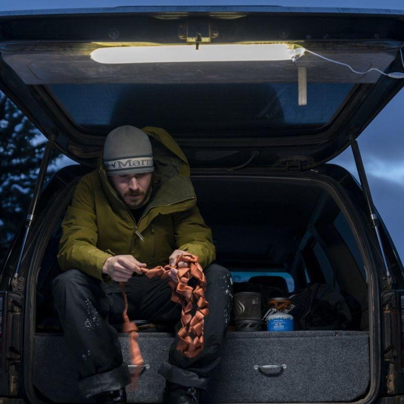 Klymit Everglow Light Tube is Inflatable Lighting Fixture