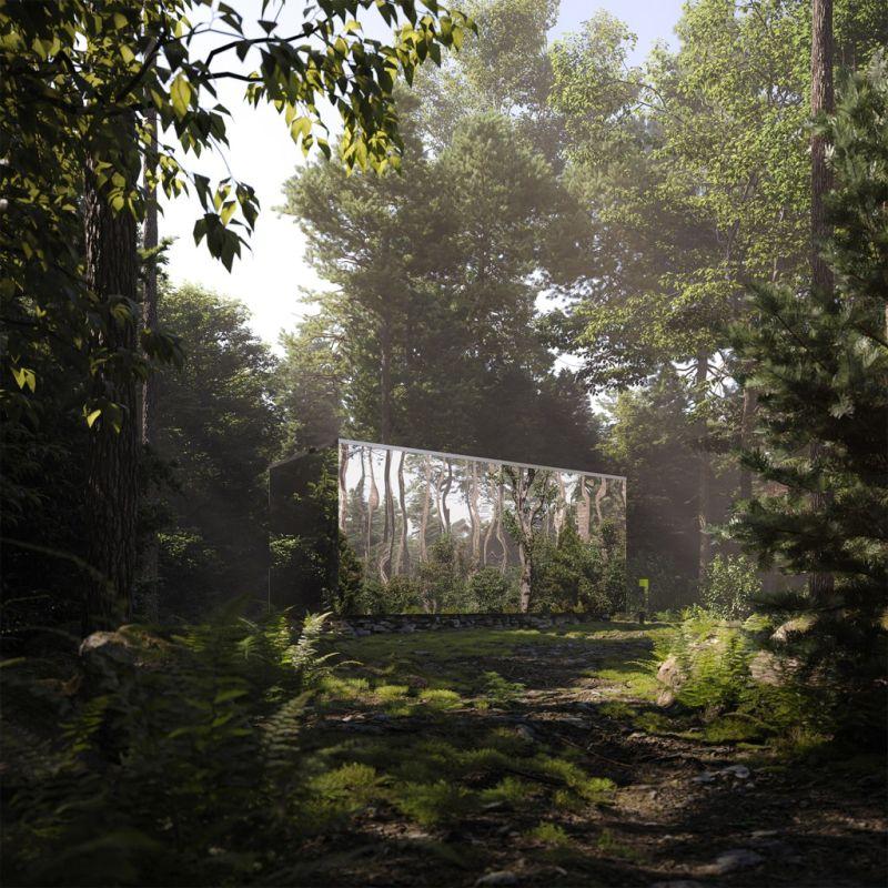 Leckie Studio and Aruliden Designs Mirrored Cabins Amidst Wild Landscape