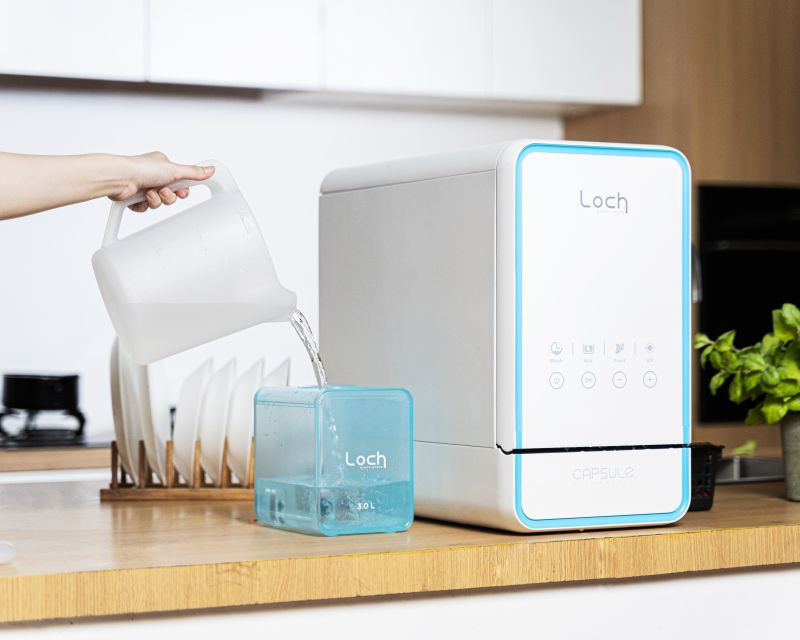 Loch Electronics Launches Capsule 3-in-1 Compact Dishwasher