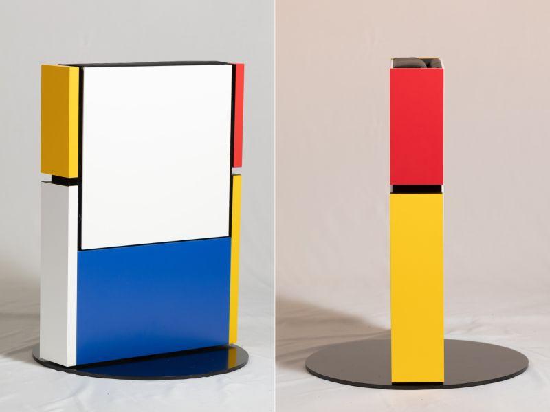 Mono Chair by Philip Kronqvist Folds into Rectangular Case