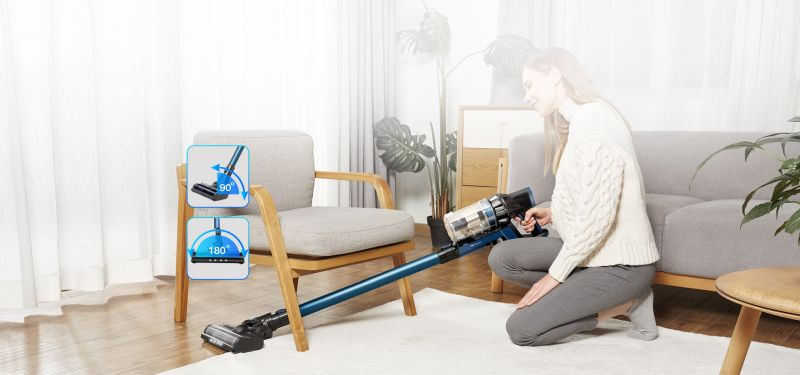 Proscenic P10 PRO Vacuum Cleaner Helps You in Cleaning Your Place Better