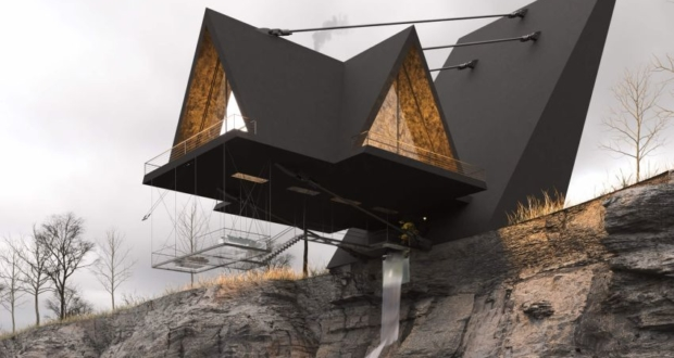This Suspended House Will Give You a Feeling of Fear and Excitement