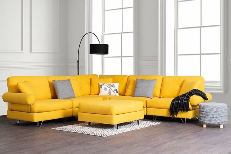 Transformer Couch can be Configured in Different Ways Depending on Needs