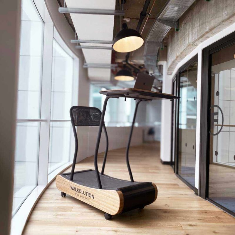 Walkolution Offers Treadmill with Integrated Desk as Healthier Alternative to Sitting