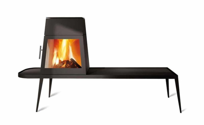 Wittus Shaker Wood Stove Suits Contemporary Living Spaces