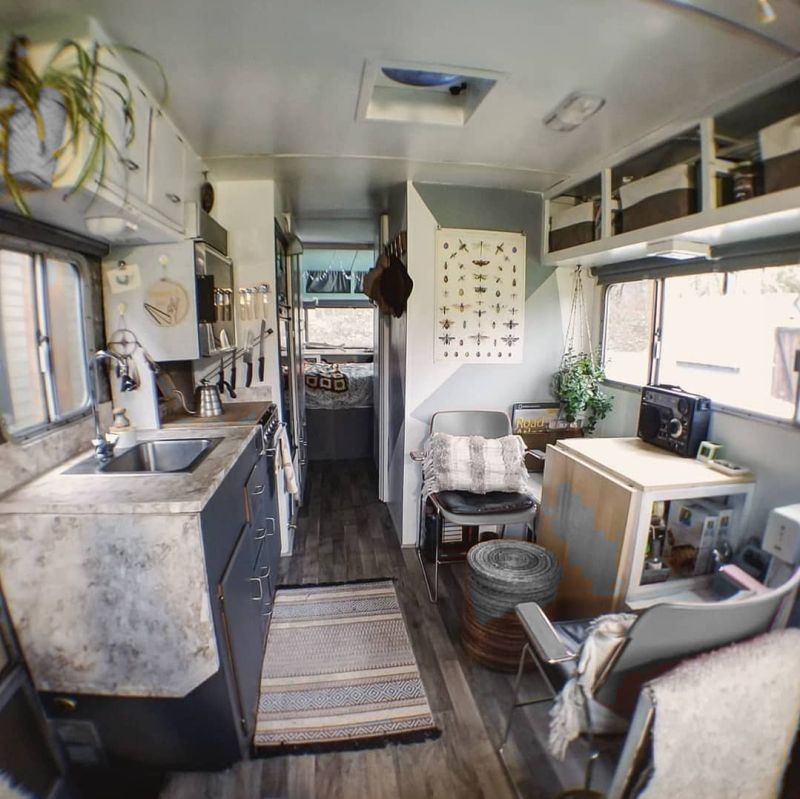 Woman Revamps 70s Motorhome While Keeping its Vintage Vibe