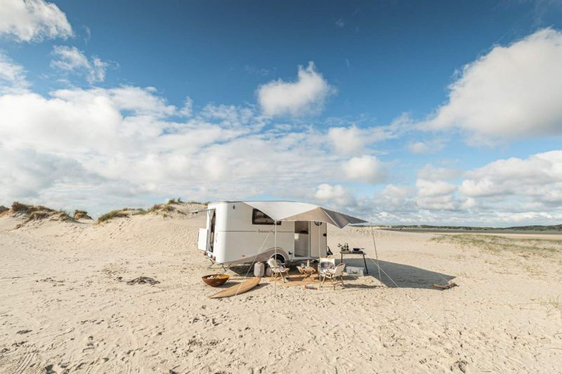Hobby Group Launches Its BEACHY Travel Trailer