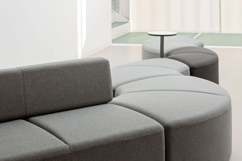 BEND Modular Office Sofa Offers Endless Seating Possibilities