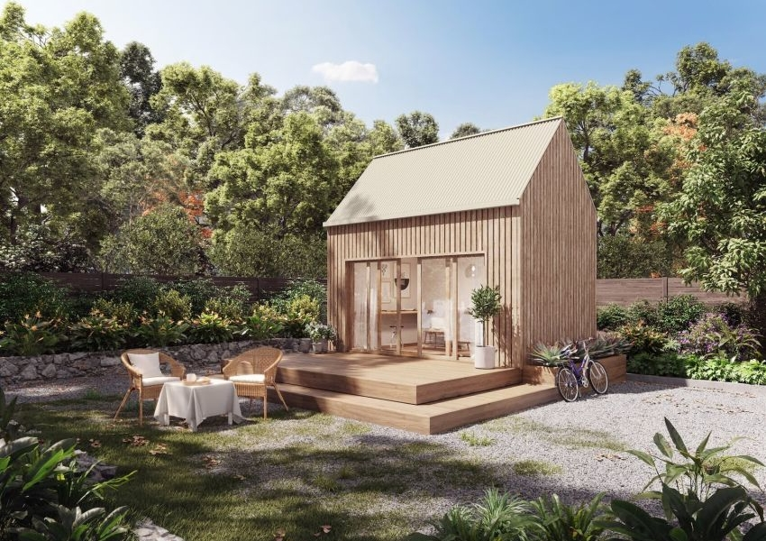 Coexist Build Launches DIY Hemp Kit for Tiny Home or Backyard Office