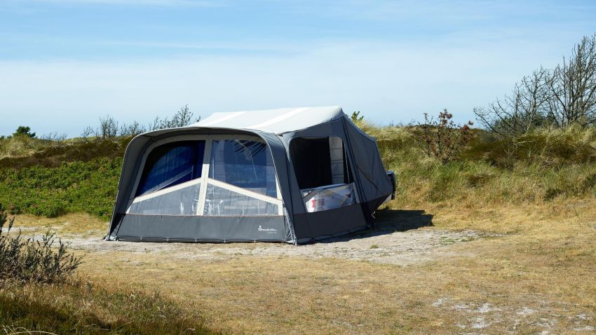 Isabella Camp-Let Passion Trailer Tent Accommodates up to 6 Persons
