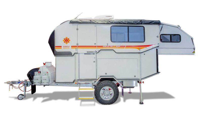 Kimberley Kampers Classic Caravan is Built for Off-Road Adventures