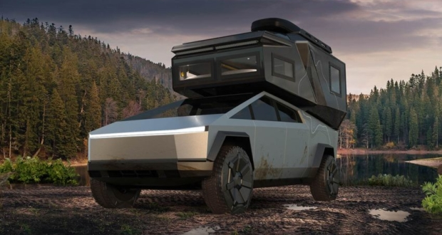 Loki Basecamp Introduces its Cybertruck Edition of Truck Camper