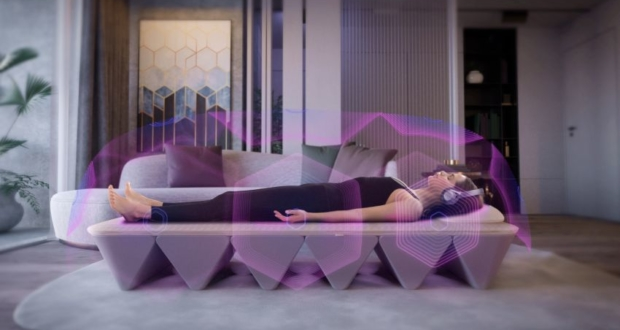 OPUS SoundBed Uses Vibrations and Audio for Emotional Fitness